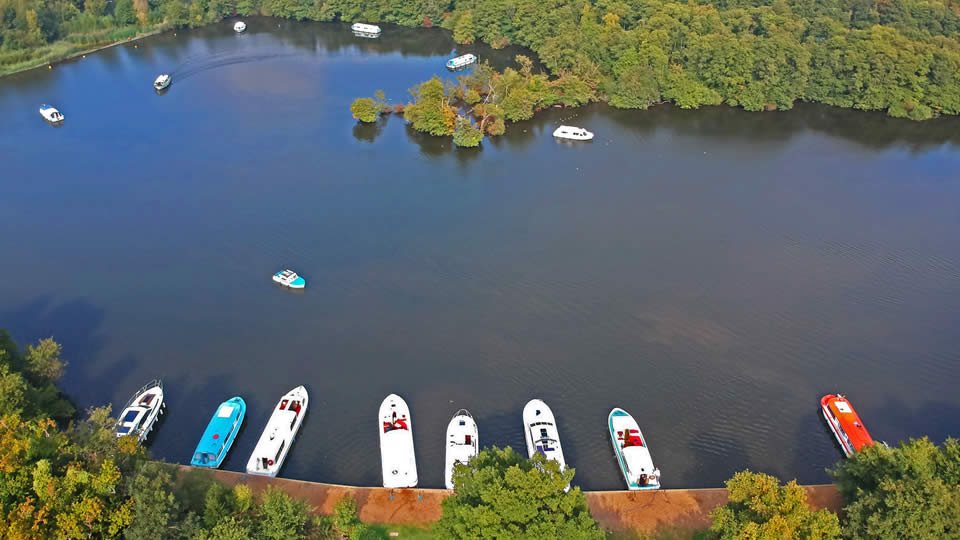 Salhouse Broad Moorings